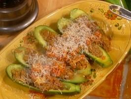 Zucchini Ripieno di Fegatini (Stuffed Zucchini)