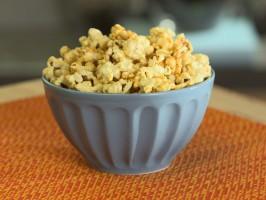 Nacho Cheesy Popcorn