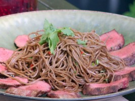 Spicy Lamb and Soba Noodle Salad