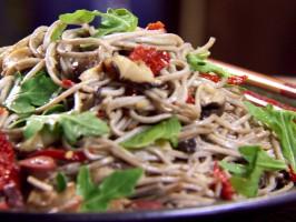 Italian Soba Noodle Salad