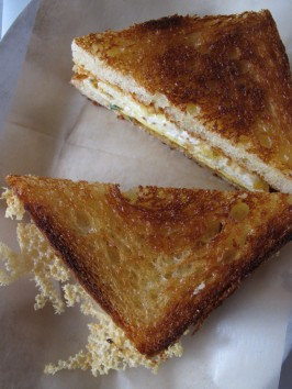 Breakfast Egg and Grilled Cheese