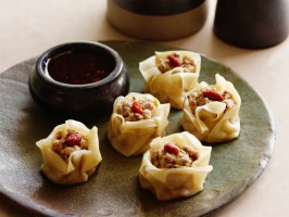 "Steamed Pork and Mushroom ""Siu Mai"" Dumplings"