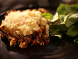 Cast-Iron Ground Beef Pie