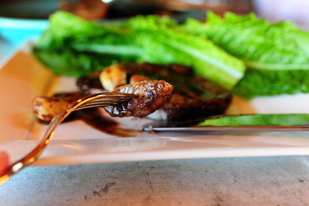Pork Chops with Wine and Garlic