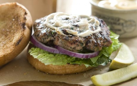Lakeside Turkey Burgers