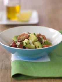Grape Tomato and Avocado Salad
