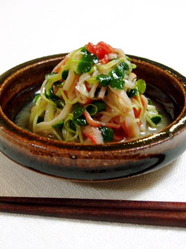 Radish Sprout Salad