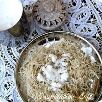 A typical South Indian dish -Idiyappam (Rice Noodles) Recipe