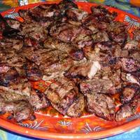 Grilled Lamb Steaks with Garlic and Rosemary Recipe