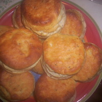 Big Ole Southern Biscuits w/ Flax Seeds Recipe