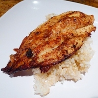 Mild Blackened Catfish Recipe