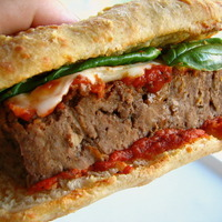 Meatloaf Sandwich on Asiago Ciabatta Recipe