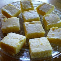 Lemon Pastry Squares (a.k.a Lemon Brownies) - a new take on Lemon Bars! Recipe
