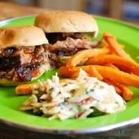 Pulled Pork Sliders with Mango BBQ Sauce Recipe
