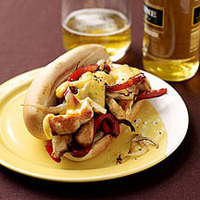 Philly Chicken Cheese Steaks Recipe