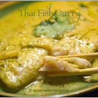 Thai Fish Curry or Kaeng Khieu Wan Pla Recipe