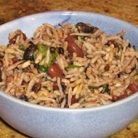Habichuelas (frijoles) rojas y arroz Recipe