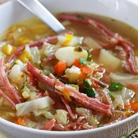 Easy Corned Beef Soup Recipe