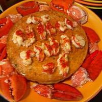 Pastel de queso de Langosta (Cheesecake) de Bobby Lovera Recipe