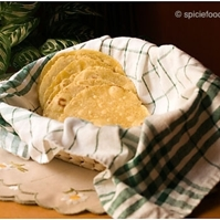 Corn Tortillas made with Yellow cornmeal flour Recipe