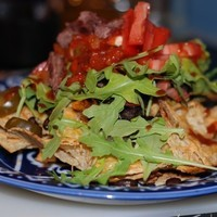 Churrasco Skirt Steak Nachos Recipe
