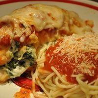 CHICKEN PARMESAN BUNDLES Recipe