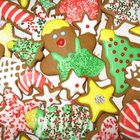 Aunt Martha's Gingerbread Cookies Recipe