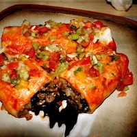 Giggling Gourmet's Buffalo Burritos Recipe