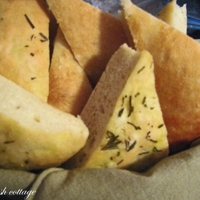 Focaccia with Rosemary and Onions Recipe