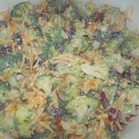 Festive Broccoli Salad for a Large Group Recipe