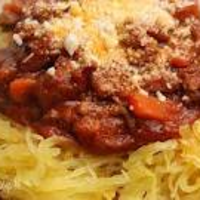 Winter Red Sauce over Spaghetti Squash Recipe
