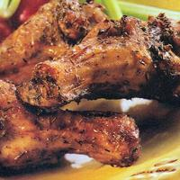 Jerk Chicken Wings With Creamy Dipping Sauce Recipe
