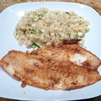 Lemon Paprika Tilapia Recipe