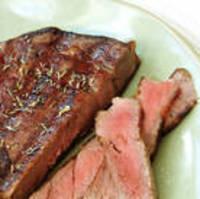 Rib-Eye Steak Bruschetta with Chimichurri Sauce Recipe