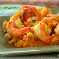 Risotto de camarones Recipe