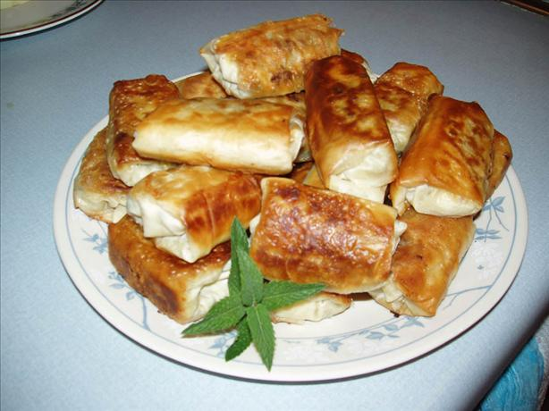 Borek (Turkish Meat Rolls)