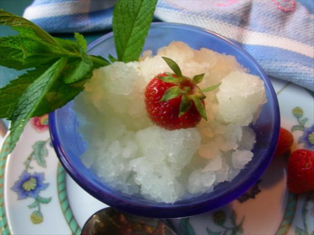 Iced Lemonade (Limon Granizado)