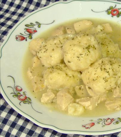 Sandy's Chicken and Dumplings