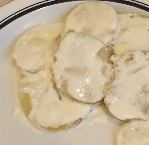 Toots' Creamy Garlic Potatoes