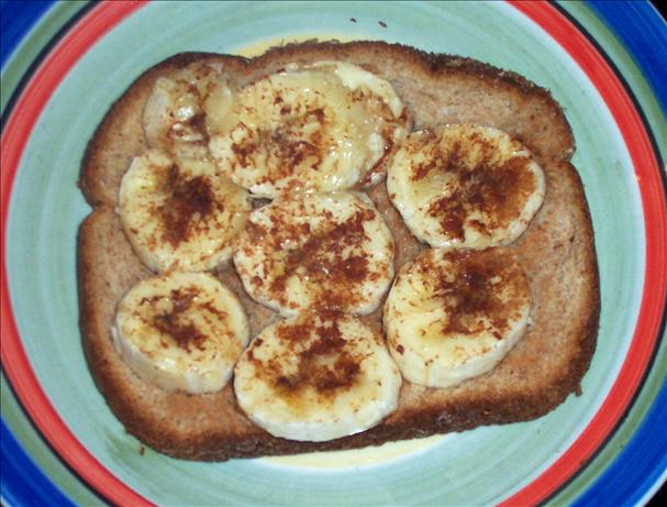 3-Ingredient Cinnamon Banana Slice