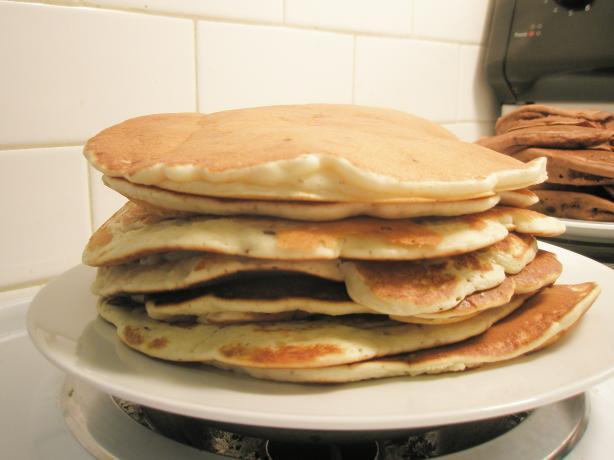 Banana-Pecan Pancakes