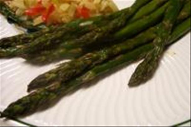 Roasted Asparagus Bundles