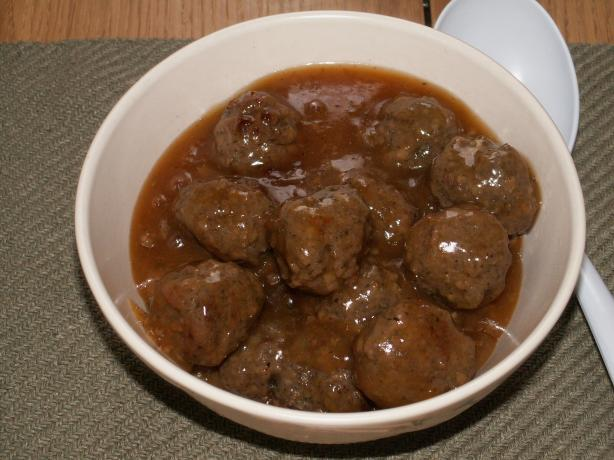 Asian Meatballs (As a Side Dish)