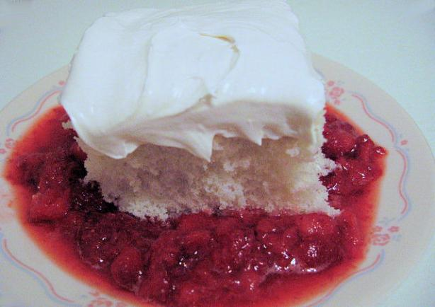 Supreme Strawberry Cake