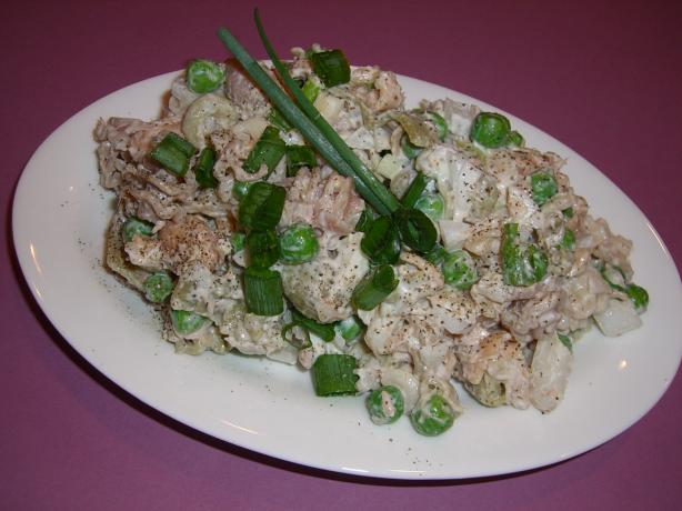 Mom's Cold Tuna Salad