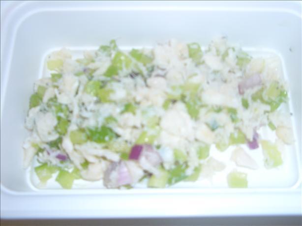 No-Mayo Crab Salad