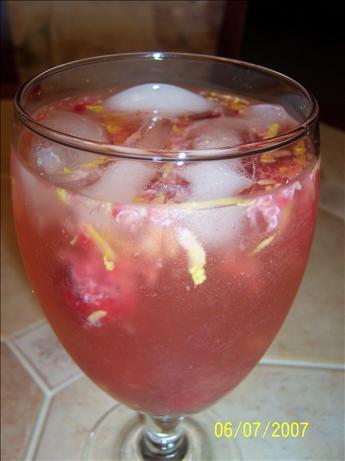 Raspberry Lemoncello Sparkling Sangria