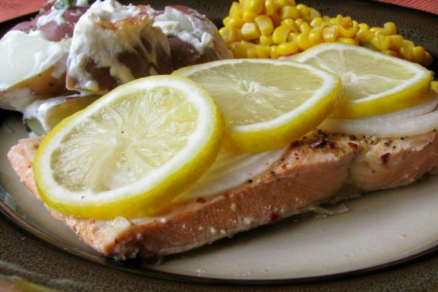 Pricilla's Grilled Salmon