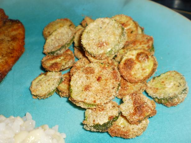 Crispy Zucchini Coins