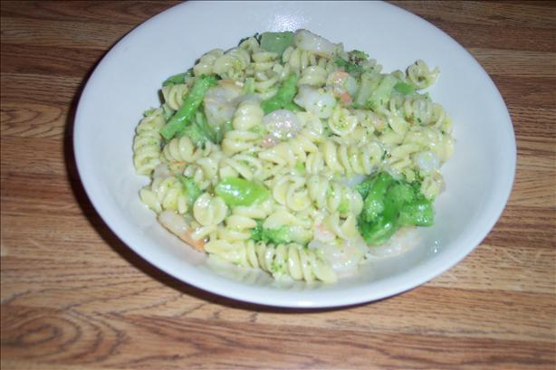 Shrimp and Broccoli With Rotini